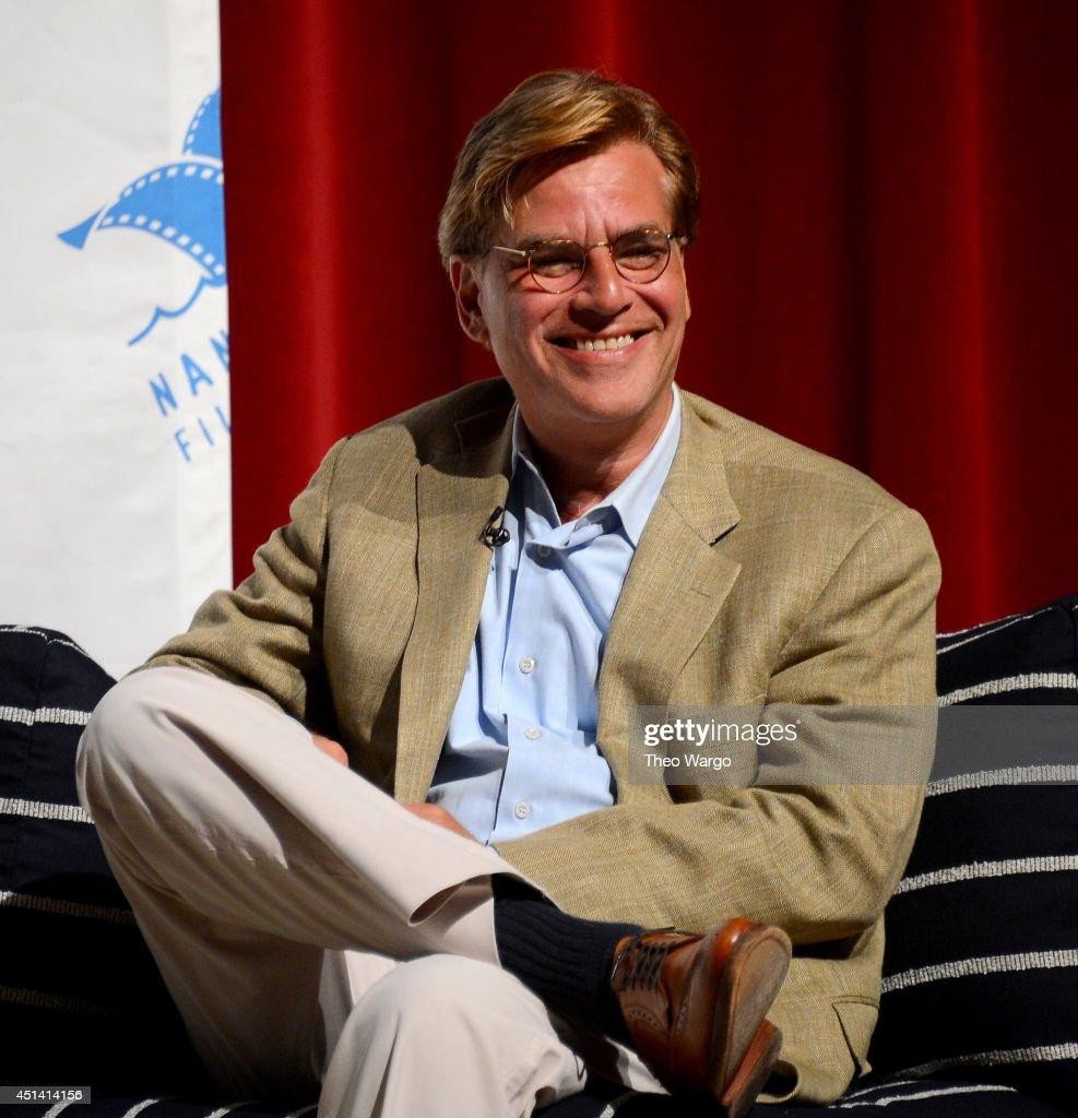 Screenwriter Aaron Sorkin speaks onstage at The 19th Annual Nantucket Film Festival on on June 28 2014 in Nantucket Massachusetts