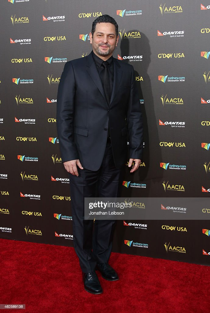 Screenwriter Alexander Dinelaris attends the 2015 G'Day USA GALA featuring the AACTA International Awards presented by QANTAS at Hollywood Palladium on January 31, 2015 in Los Angeles, California.