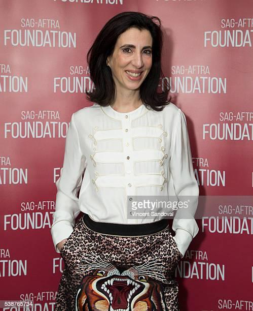 Screenwriter Aline Brosh McKenna attends SAGAFTRA Foundation Conversations for 'Crazy ExGirlfriend' at SAGAFTRA Foundation on June 7 2016 in Los...