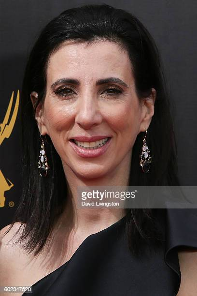 Screenwriter Aline Brosh McKenna attends the 2016 Creative Arts Emmy Awards Day 1 at the Microsoft Theater on September 10 2016 in Los Angeles...