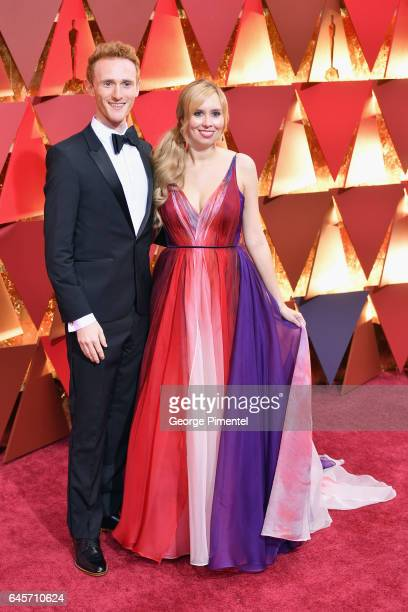 Screenwriter Allison Schroeder and guest attend the 89th Annual Academy Awards at Hollywood Highland Center on February 26 2017 in Hollywood...