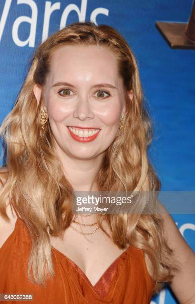 Screenwriter Allison Schroeder attends the 2017 Writers Guild Awards LA Ceremony at The Beverly Hilton Hotel on February 19 2017 in Beverly Hills...