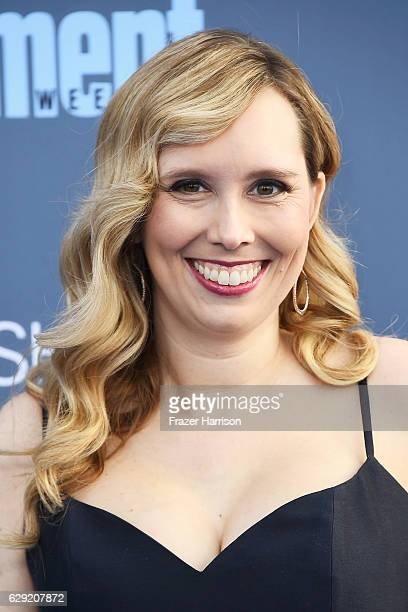 Screenwriter Allison Schroeder attends The 22nd Annual Critics' Choice Awards at Barker Hangar on December 11 2016 in Santa Monica California