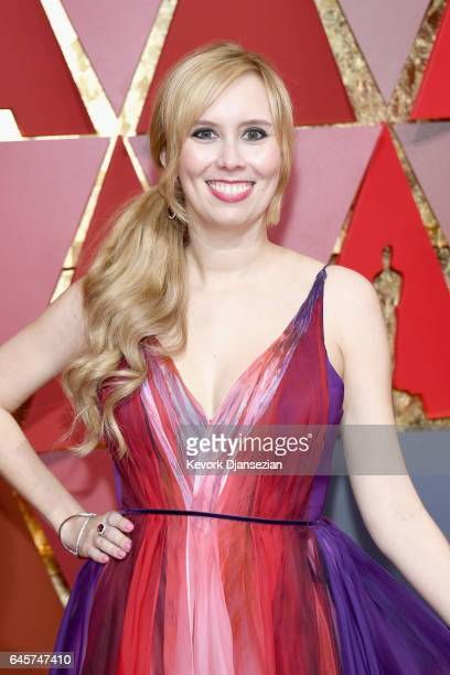 Screenwriter Allison Schroeder attends the 89th Annual Academy Awards at Hollywood Highland Center on February 26 2017 in Hollywood California
