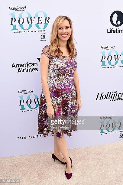 Screenwriter Allison Schroeder attends The Hollywood Reporter's Annual Women in Entertainment Breakfast in Los Angeles at Milk Studios on December 7...