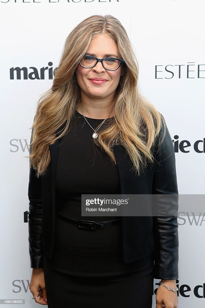 Screenwriter and director Jennifer Lee attends Marie Claire's SecondAnnual New Guard Lunch at Hearst Tower on October 30 2014 in New York City