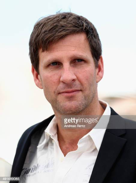 Screenwriter Anders Thomas Jensen attends the 'The Salvation' photocall at the 67th Annual Cannes Film Festival on May 17 2014 in Cannes France