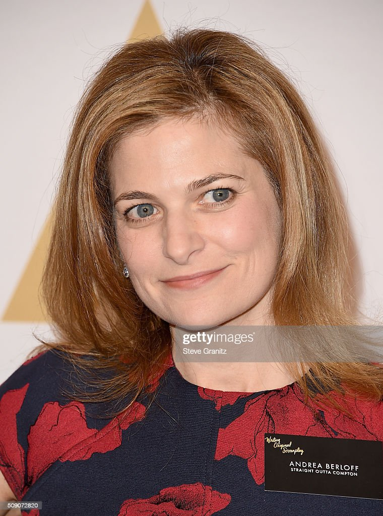 Screenwriter <a gi-track='captionPersonalityLinkClicked' href=/galleries/search?phrase=Andrea+Berloff&family=editorial&specificpeople=1055054 ng-click='$event.stopPropagation()'>Andrea Berloff</a> attends the 88th Annual Academy Awards nominee luncheon on February 8, 2016 in Beverly Hills, California.