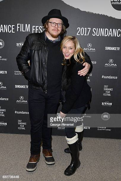 Screenwriter Ben York Jones and Olivia Blaustein attend the 'Newness' Premiere on day 7 of the 2017 Sundance Film Festival at Eccles Center Theatre...