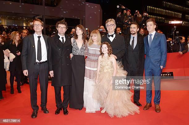Screenwriter Bjorn Olaf Johannessen producer Gian Piero Ringel Actress Charlotte Gainsbourg director Wim Wenders and actors Marie Josee Croze Robert...