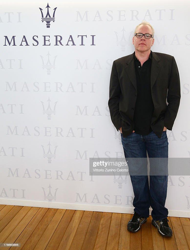 Screenwriter Bret Easton Ellis attends the 70th Venice International Film Festival at Terrazza Maserati on August 30, 2013 in Venice, Italy.