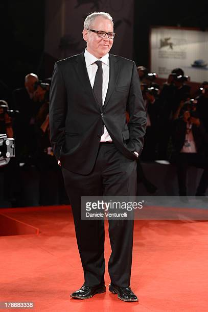 Screenwriter Bret Easton Ellis attends 'The Canyons' Premiere during The 70th Venice International Film Festival at Sala Grande on August 30 2013 in...