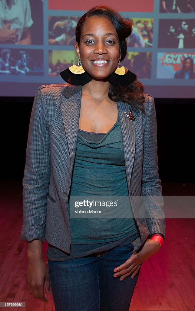 Screenwriter Chinaka Hodge attends Get Lit Presents The 2nd Annual Classic Slam at Orpheum Theatre on April 27, 2013 in Los Angeles, California.