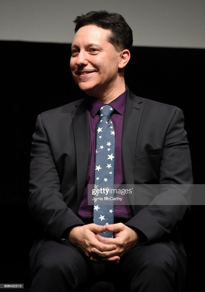 Screenwriter Chris Bergoch attends 55th New York Film Festival - 'The Florida Project' at Alice Tully Hall on October 1, 2017 in New York City.