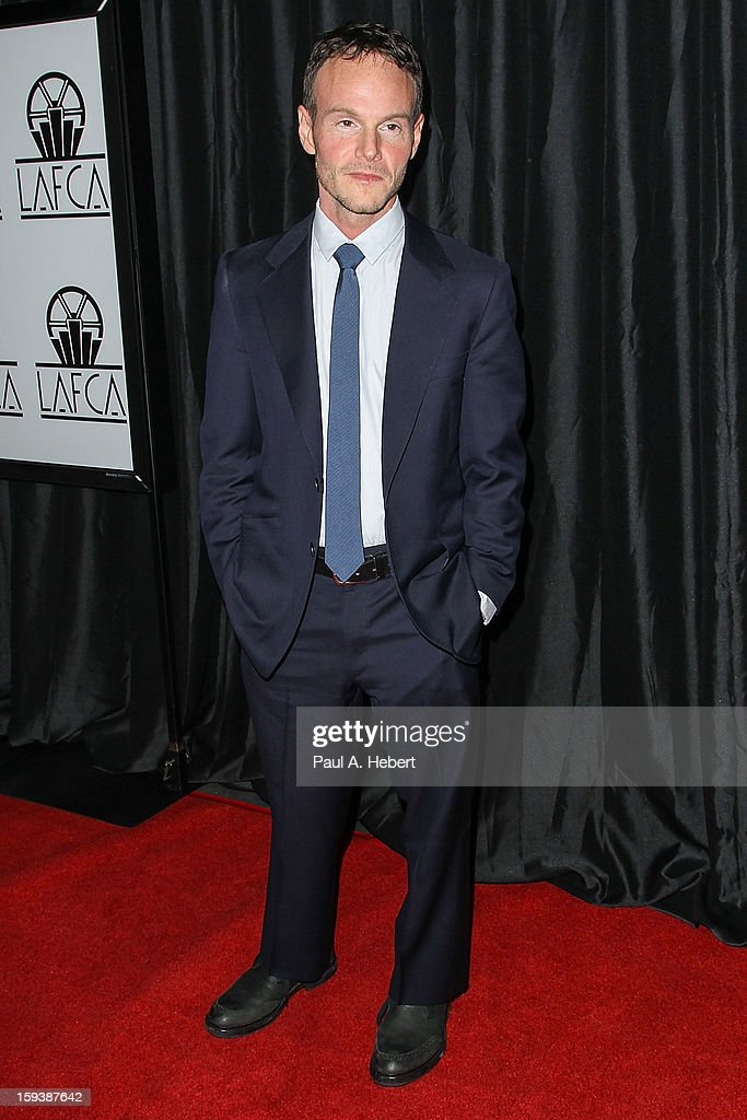 Screenwriter <a gi-track='captionPersonalityLinkClicked' href=/galleries/search?phrase=Chris+Terrio&family=editorial&specificpeople=208138 ng-click='$event.stopPropagation()'>Chris Terrio</a> arrives at the 38th Annual Los Angeles Film Critics Association Awards held at the InterContinental Hotel on January 12, 2013 in Century City, California.