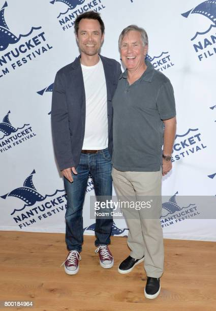 Screenwriter Davey Holmes and Epix presidentCEO Mark Greenberg attend 'TV and Talk Get Shorty' during the 2017 Nantucket Film Festival Day 3 on June...