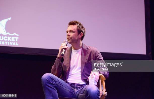Screenwriter Davey Holmes attends the 'TV and Talk Get Shorty' QA during the 2017 Nantucket Film Festival Day 3 on June 23 2017 in Nantucket...