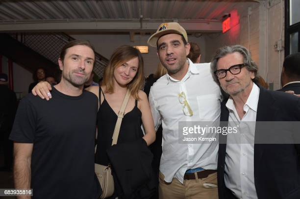 Screenwriter David Michod and actors Rose Byrne Bobby Cannavale and Griffin Dunne attend a special screening of the Netflix original film 'War...