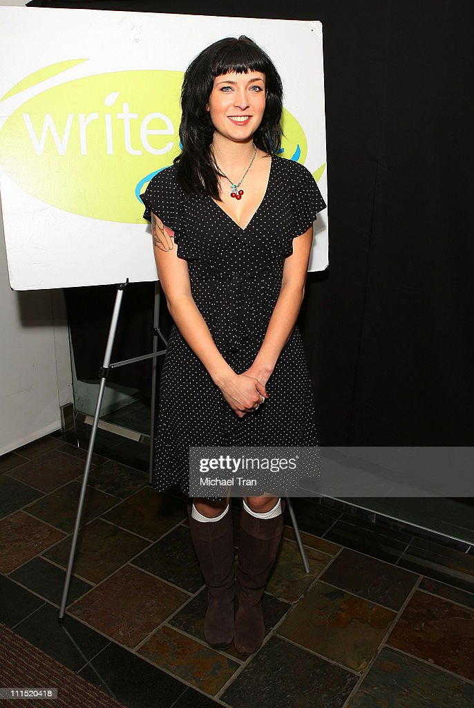 Screenwriter Diablo Cody arrives at the Bold Ink Awards held at The Grammy Foundation on January 24 2008 in Santa Monica California