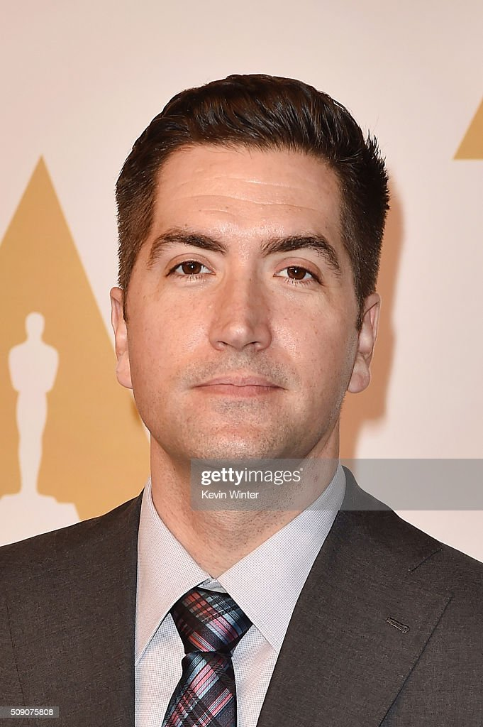 Screenwriter <a gi-track='captionPersonalityLinkClicked' href=/galleries/search?phrase=Drew+Goddard+-+Regisseur&family=editorial&specificpeople=12897935 ng-click='$event.stopPropagation()'>Drew Goddard</a> attends the 88th Annual Academy Awards nominee luncheon on February 8, 2016 in Beverly Hills, California.