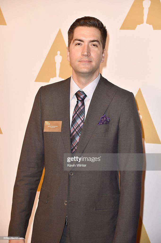 Screenwriter <a gi-track='captionPersonalityLinkClicked' href=/galleries/search?phrase=Drew+Goddard+-+Filmregiss%C3%B6r&family=editorial&specificpeople=12897935 ng-click='$event.stopPropagation()'>Drew Goddard</a> attends the 88th Annual Academy Awards nominee luncheon on February 8, 2016 in Beverly Hills, California.