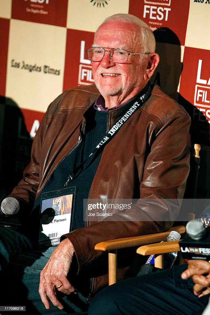 Screenwriter Frank Pierson attends A Conversation: Remembering Sidney Lumet during the 2011 Los Angeles Film Festival held at Regal Cinemas L.A. LIVE on June 21, 2011 in Los Angeles, California.