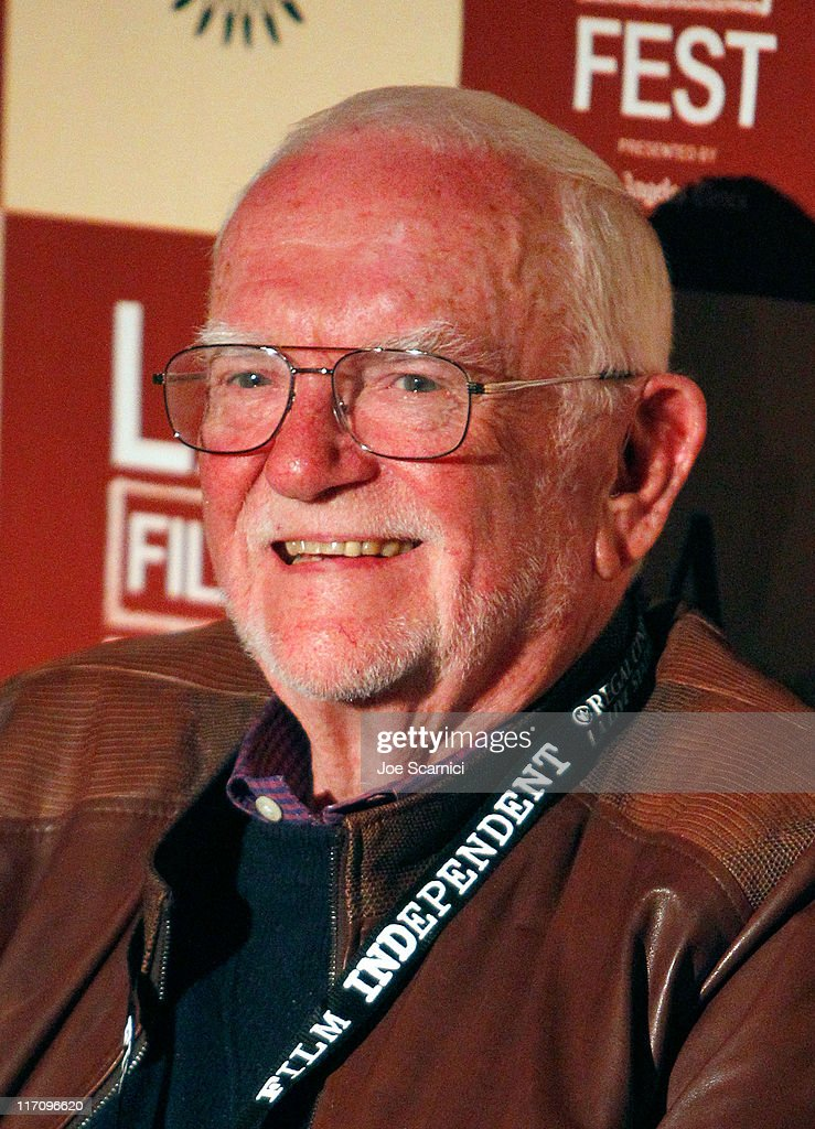 Screenwriter <a gi-track='captionPersonalityLinkClicked' href=/galleries/search?phrase=Frank+Pierson&family=editorial&specificpeople=203103 ng-click='$event.stopPropagation()'>Frank Pierson</a> attends A Conversation: Remembering Sidney Lumet during the 2011 Los Angeles Film Festival held at Regal Cinemas L.A. LIVE on June 21, 2011 in Los Angeles, California.