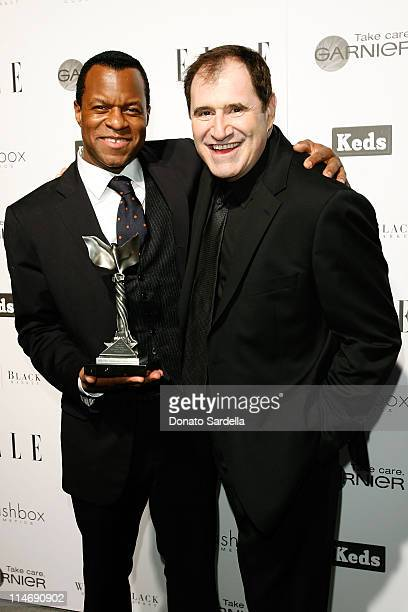COVERAGE** Screenwriter Geoffrey Fletcher and actor Richard Kind attend the ELLE Green Room at the 25th Film Independent Spirit Awards held at Nokia...