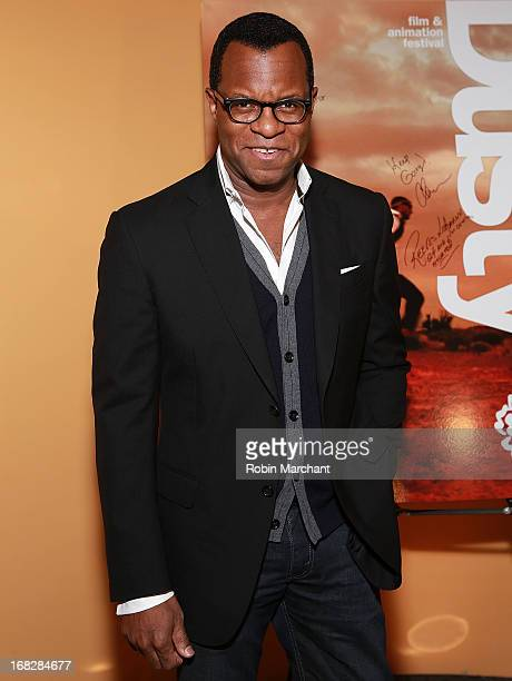 Screenwriter Geoffrey Fletcher attends 24th Annual Dusty Film And Animation Festival at SVA Theatre on May 7 2013 in New York City