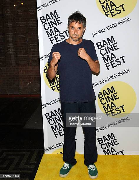 Screenwriter Harmony Korine attends BAMcinemaFest 2015 'Kids' 20th Anniversary Screening at BAM Peter Jay Sharp Building on June 25 2015 in New York...
