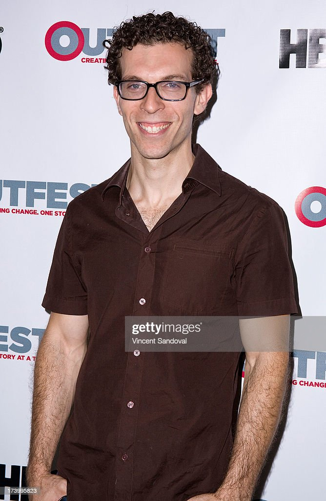 Screenwriter J. Michael Feldman attends the Outfest Film Festival - Screenwriting Lab Reading at Directors Guild Of America on July 18, 2013 in Los Angeles, California.
