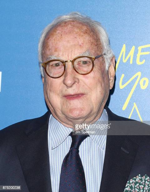 Screenwriter James Ivory attends the screening of Sony Pictures Classics' 'Call Me By Your Name' hosted by Calvin Klein and The Cinema Society at...