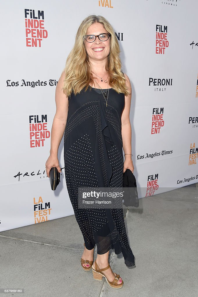 Screenwriter Jennifer Lee attends the LA Film Festival premiere of Tangerine Entertainment's 'Paint It Black' at Bing Theater At LACMA on June 3 2016...