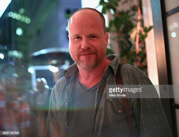 Screenwriter Joss Whedon attends The Hollywood Reporter's 4th Annual Nominees Night at Spago on February 8 2016 in Beverly Hills California