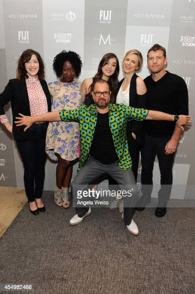 Screenwriter Julia Hart actrerss Muna Otaru director Daniel Barber actress Hailee Steinfeld actress Brit Marling and actor Sam Worthington attend the...