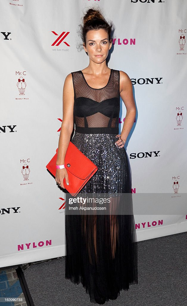 Screenwriter Kelly Oxford attends the NYLON And Sony X Headphones September TV Issue Party at Mr. C Beverly Hills on September 15, 2012 in Beverly Hills, California.