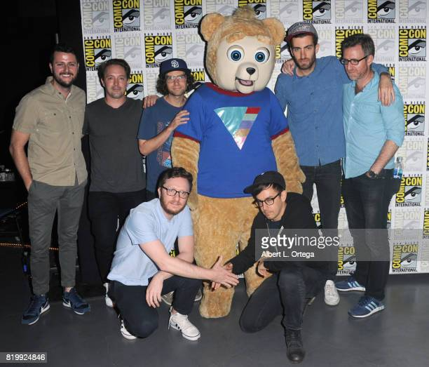 Screenwriter Kevin Costello actor Beck Bennett screenwriter Kyle Mooney producer Akiva Schaffer 'Brigsby Bear' producer Jorma Taccone director Dave...