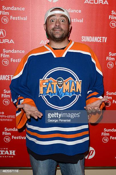 Screenwriter Kevin Smith attend the 'Misery Loves Comedy' Premiere during the 2015 Sundance Film Festival on January 23 2015 in Park City Utah