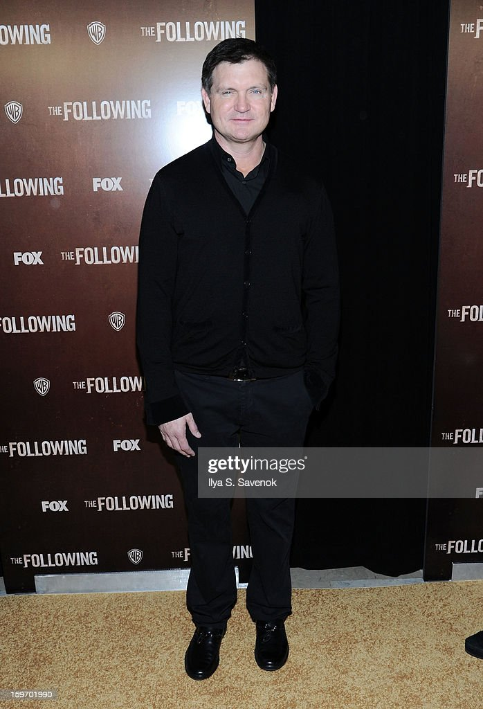 Screenwriter Kevin Williamson attends 'The Following' World Premiere at The New York Public Library on January 18, 2013 in New York City.