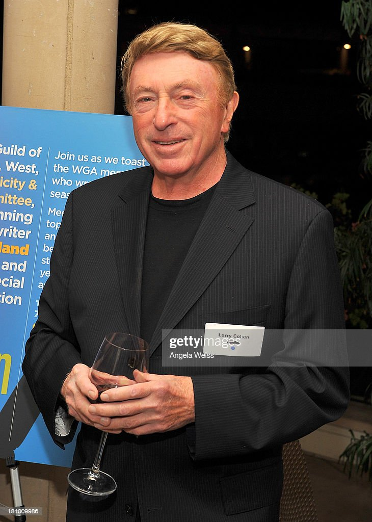 Screenwriter Larry Cohen attends the 'Behind The Screen 2013' WGAW Screenwriters Press Reception at The Capital Grille on October 10 2013 in Beverly...