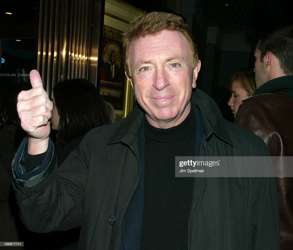 Screenwriter Larry Cohen during Special New York Screening of Phone Booth Hosted by Interview Outside Arrivals at Clearview Chelsea West Theater in...