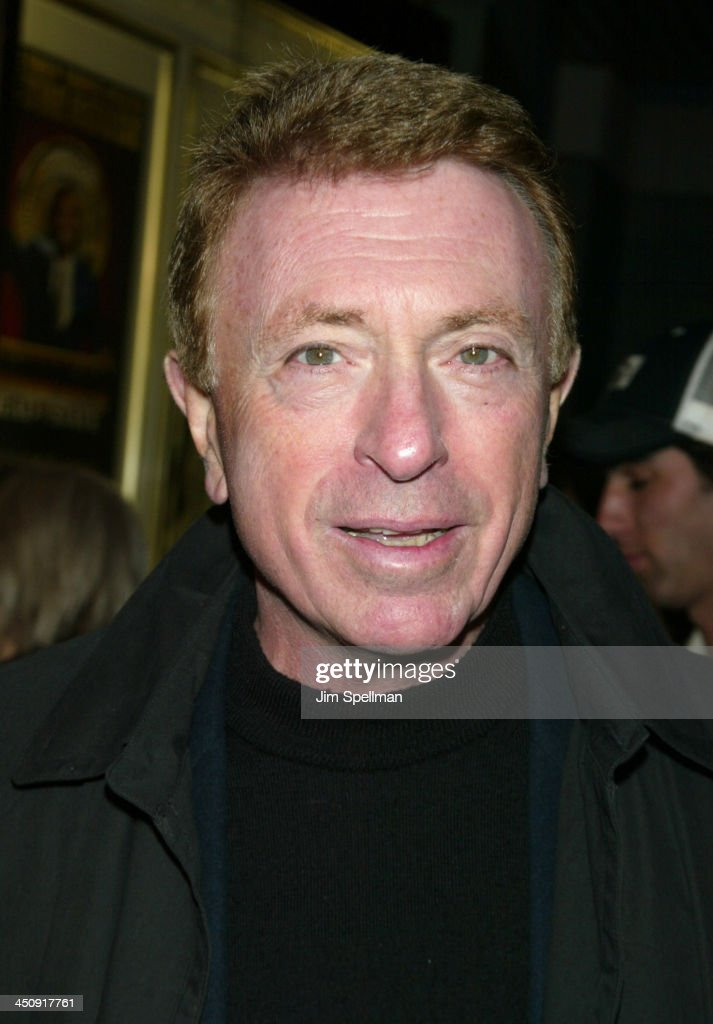 Screenwriter <a gi-track='captionPersonalityLinkClicked' href=/galleries/search?phrase=Larry+Cohen&family=editorial&specificpeople=238848 ng-click='$event.stopPropagation()'>Larry Cohen</a> during Special New York Screening of Phone Booth Hosted by Interview - Outside Arrivals at Clearview Chelsea West Theater in New York City, New York, United States.