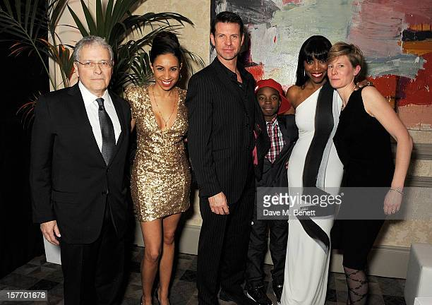Screenwriter Lawrence Kasdan Debbie Kurup Lloyd Owen Malaki Paul Heather Headley and director Thea Sharrock attend an after party celebrating the...