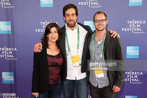 Screenwriter Linda Davis filmmaker Dan Krauss and screenwriter Lawrence Lerew attend 'The Kill Team' Premiere during the 2013 Tribeca Film Festival...