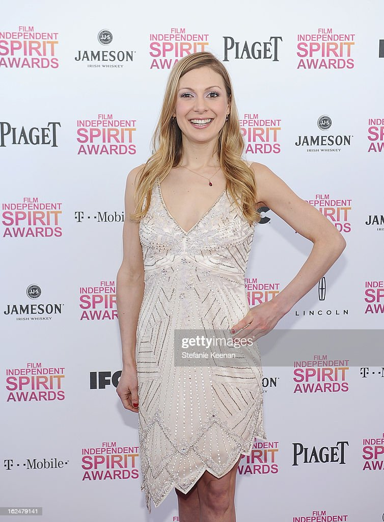 Screenwriter Lucy Alibar arrives at The 2013 Film Independent Spirit Awards on February 23 2013 in Santa Monica California
