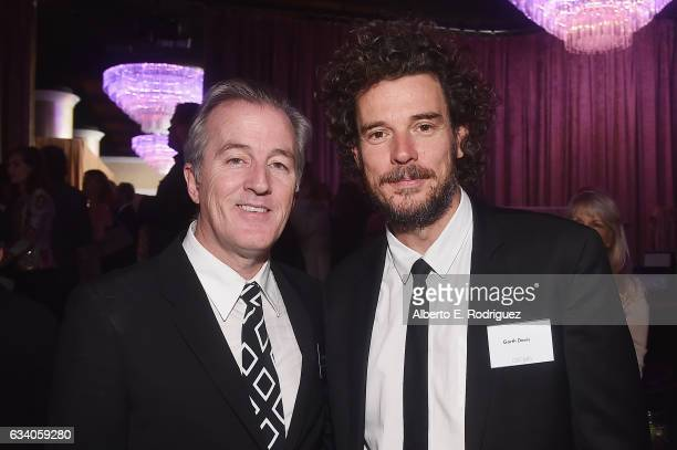 Screenwriter Luke Davies and director Garth Davis attend the 89th Annual Academy Awards Nominee Luncheon at The Beverly Hilton Hotel on February 6...