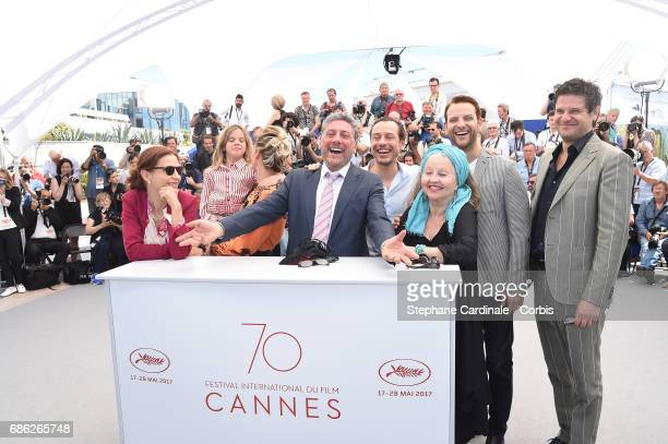 Screenwriter Margaret Mazzantini actors Nicole Centanni Jasmine Trinca director Sergio Castellitto and actors Stefano Accorsi Hanna Schygulla...