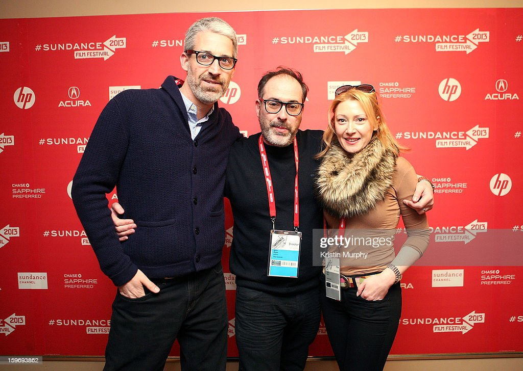 Screenwriter Mark Monroe, director Nick Ryan and Avril Daly attend 'The Summit' Premiere at Egyptian Theatre on January 18, 2013 in Park City, Utah.