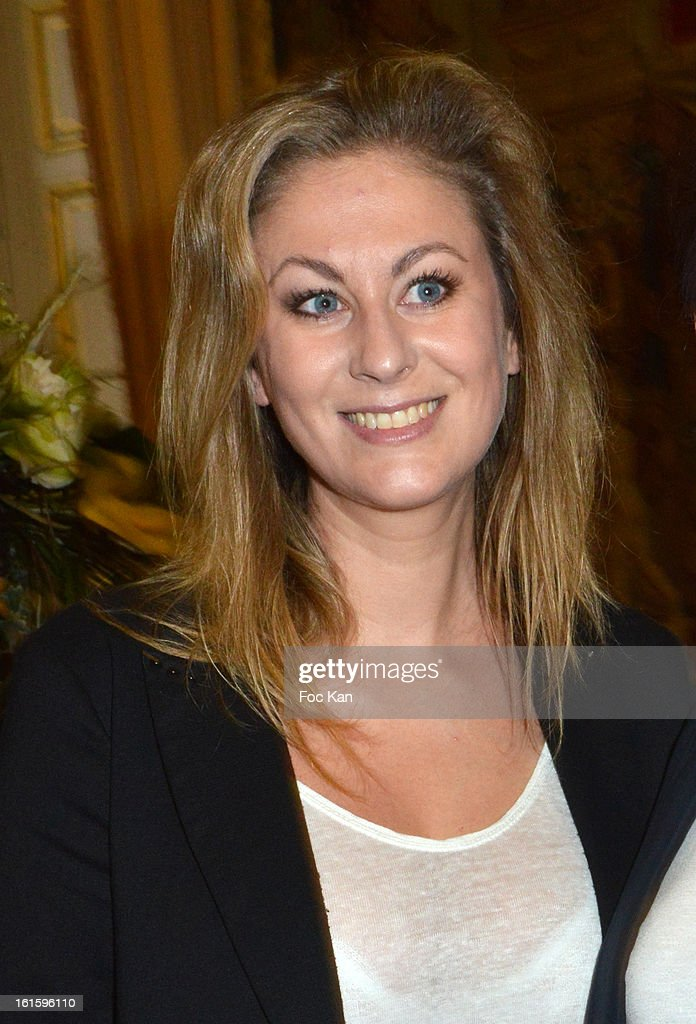 Screenwriter Maud Garnier attends the Rallye Aicha des Gazelles du Maroc' 2013 - Press Conference at Palais du Luxembourg on February 12, 2013 in Paris, France.