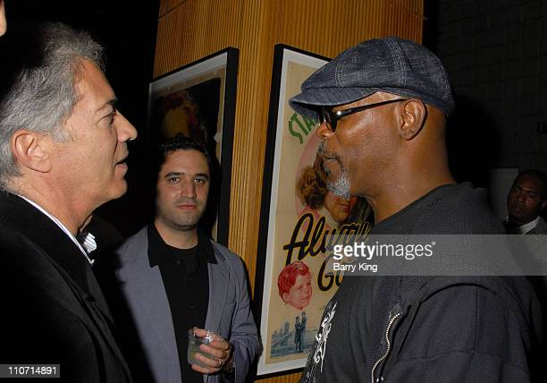 20070822 CA 20070822 CA Screenwriter Michael Bortman and actor Samuel L Jackson attend the 'Resurrecting the Champ' after party held at the Academy...
